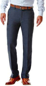 Haggar Big & Tall Straight-Fit Performance Microfiber Slacks