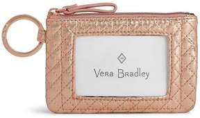 Vera Bradley Iconic Metallic Zip ID Case