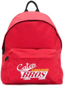 DSQUARED2 Caten Canadian Bros backpack