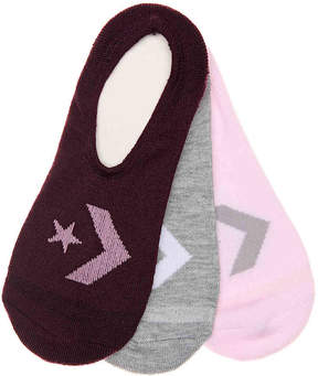 Converse Star Chevron Women's's No Show Liners - 3 Pack