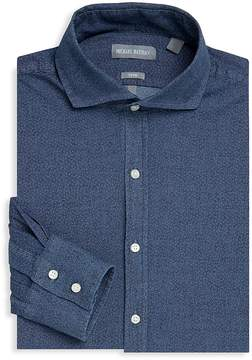 Michael Bastian Men's Textured Denim Dress Shirt