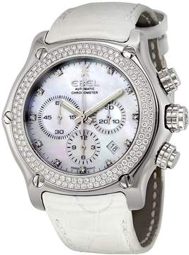 Ebel 1911 Mother of Pearl Dial Diamond Automatic Unisex Watch