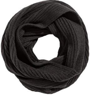 H&M Ribbed tube scarf - Black