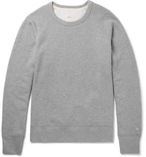 Rag & Bone Standard Issue Mélange Loopback Stretch-Cotton Jersey Sweatshirt