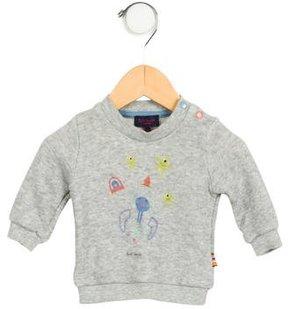 Paul Smith Boys' Printed Pullover Sweatshirt