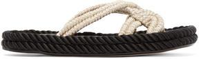 Isabel Marant Ecru Popeye Rope Sandals