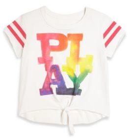 Chaser Toddler's, Little Girl's & Girl's Play Tie-Front Jersey Tee