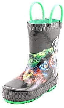 Western Chief Avengers Force Round Toe Synthetic Rain Boot.