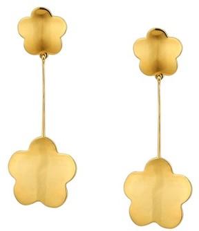 Asha Women's Delphine Floral Drop Earrings