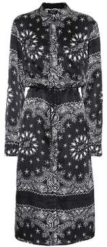 Amiri Long Bandana silk shirt