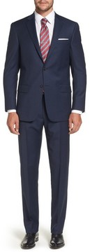 Hart Schaffner Marx Men's Classic Fit Check Stretch Wool Suit