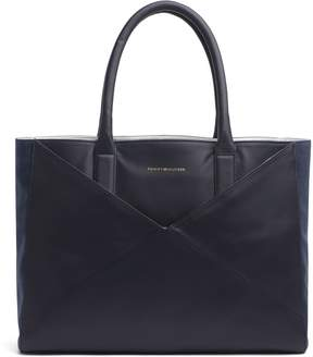 Tommy Hilfiger Leather Tote + Companion Pouch