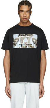 Palm Angels Black Buzer Beater T-Shirt