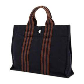 Hermes Toto cloth tote - BLUE - STYLE