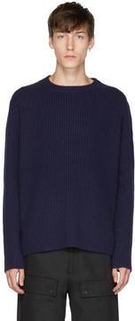 Acne Studios Navy Nicholas Sweater
