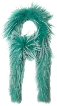 PRADA Fox-fur scarf