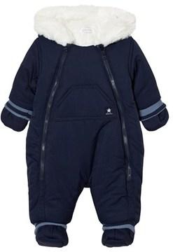 Absorba Navy Fleece Lined Snowsuit