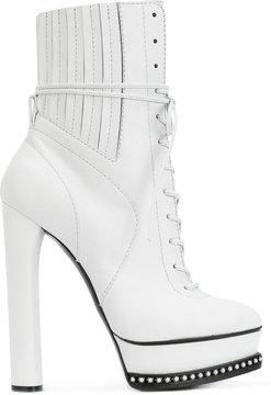 Casadei City Rock platform ankle boots