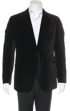 Armani Collezioni Velvet Sport Coat
