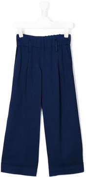 Simonetta wide leg trousers