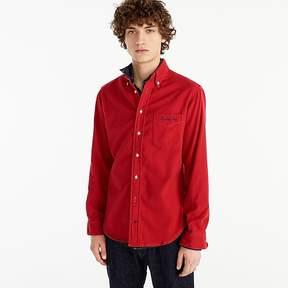 J.Crew Gitman VintageTM for embroidered flannel shirt