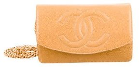 Chanel Caviar Timeless Wallet On Chain
