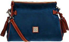 Dooney & Bourke As Is Suede Satchel - ONE COLOR - STYLE