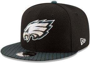 New Era Boys' Philadelphia Eagles 2017 Official Sideline 9FIFTY Snapback Cap