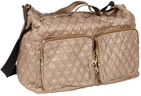 Women's CLAVA Large Three Quilted Pocket Crossbody