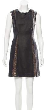 Alberta Ferretti Velvet Mini Dress