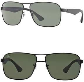 Ray-Ban Navigator 59mm Metal Frame Sunglasses
