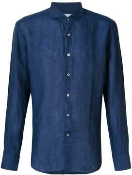 Bagutta cutaway collar shirt