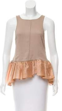 Camilla And Marc Ruffled Chiffon Top