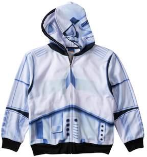 Star Wars Boys 8-20 Stormtrooper Sublimated Full-Zip Hoodie
