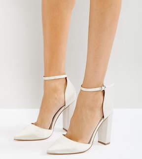Asos PENALTY Bridal Pointed High Heels