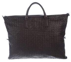 Bottega Veneta Intrecciato Leather Convertible Tote