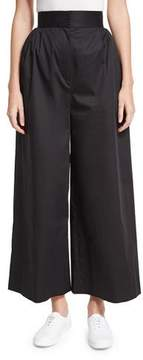 The Row Lado High-Waist Wide-Leg Pants, Black
