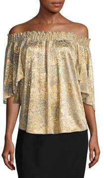 T Tahari Off-The-Shoulder Top