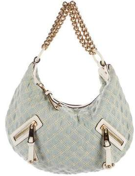 Marc Jacobs Denim Banana Hobo - BLUE - STYLE