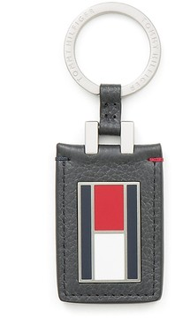 Tommy Hilfiger Leather Flag Key Fob