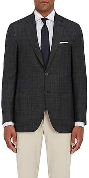 Isaia Men's Sanita Checked Wool-Blend Two-Button Sportcoat
