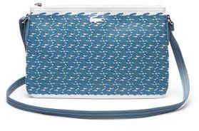 Lacoste Women's Concept Croc Zip Crossover Bag