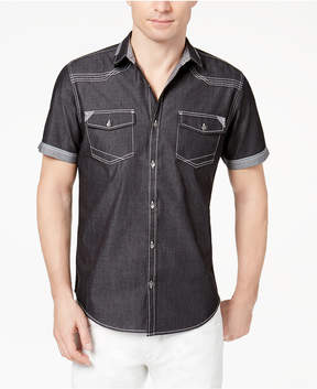 INC International Concepts I.n.c. Men's Rodeo Denim Shirt, Created for Macy's