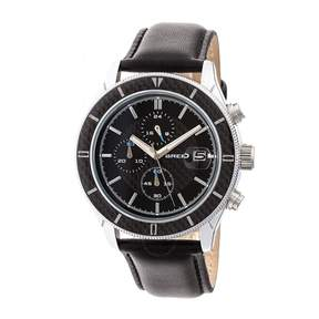 Breed Maverick Chronograph Black Dial Men's Watch