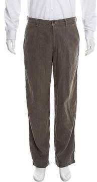 Issey Miyake Distressed Casual Pants