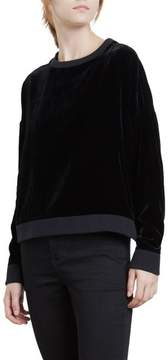 Kenneth Cole New York Crushed Velvet Sweatshirt
