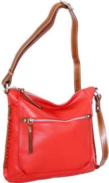 Nino Bossi Carrie Leather Crossbody Bag (Women's)