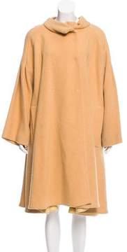 Bottega Veneta Long Wool Coat