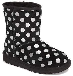 UGG Classic Metallic Dot UGGpure(TM) Lined Boot (Little Kid & Big Kid)