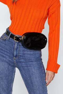 Nasty Gal WANT Hands Free Vinyl Belt Bag